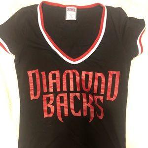 PINK Victoria's Secret Tops - VS PINK MLB Diamondbacks Shirt